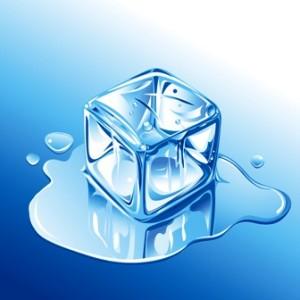 アイシングの氷